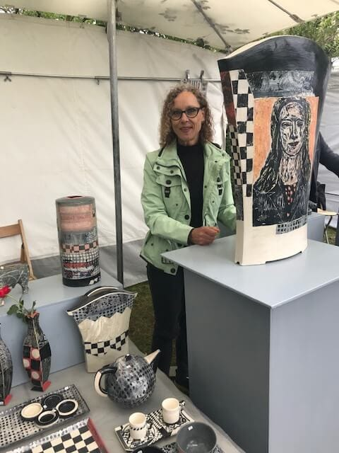 Toepfermarkt Prerow Annette Wandrer Austellung