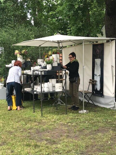 Toepfermarkt Prerow Christine Kleeberg Austellung