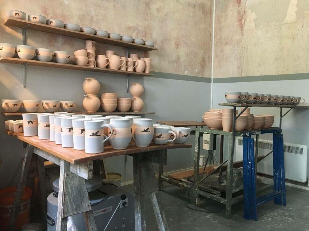 Ulrike Linke Keramikwerkstatt Produkte Fertigung