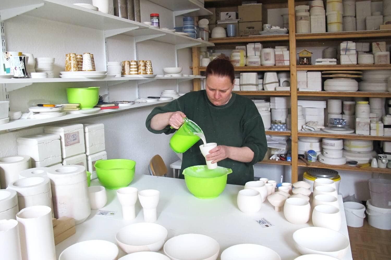 Ulrike Sandner Produktdesign Keramik Töpferin