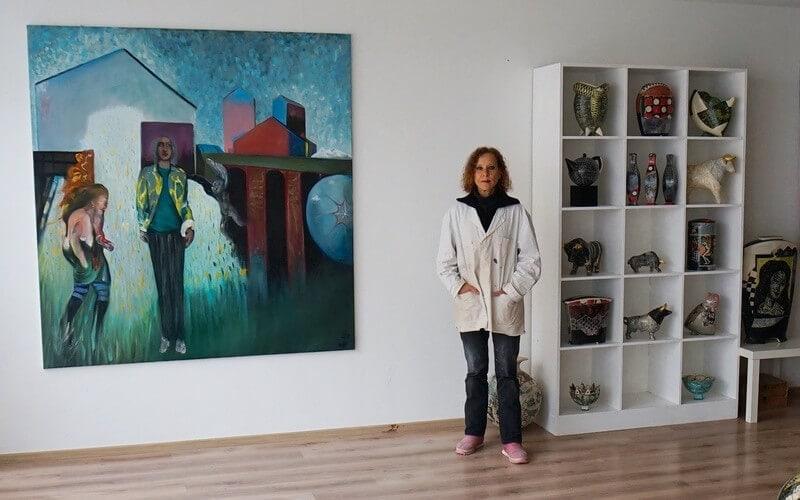 Wandrer Keramik Ap Art Annette Wandrer