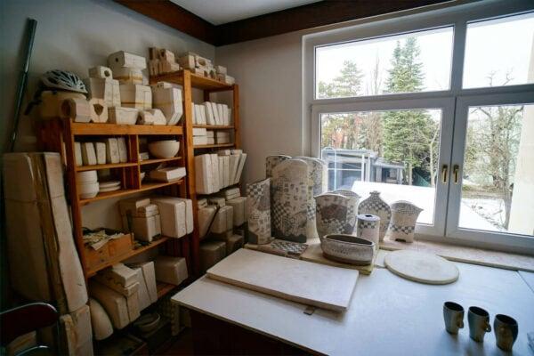 Wandrer Keramik Ap Art Arbeitsplatz Tassen Kunst