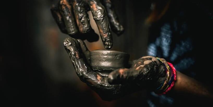 Herstellung Technik Töpferei Keramik