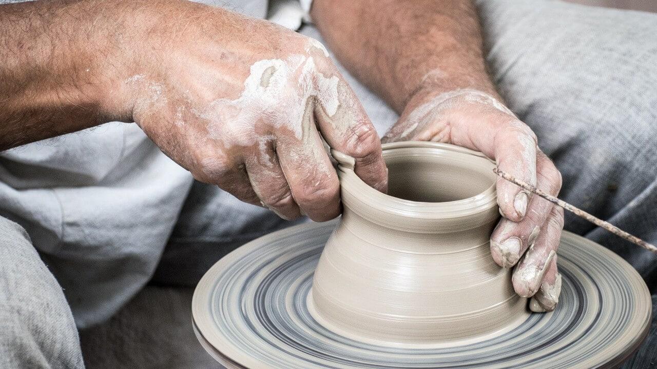 Keramik Handarbeit Toepfern Tasse