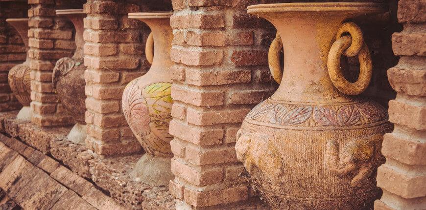 Keramikscherben Antike Keramik Geschichte